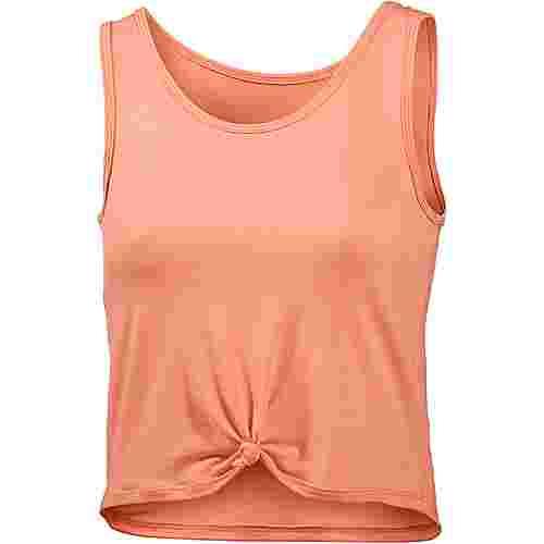 Onzie Knot Croptop Damen peach pink