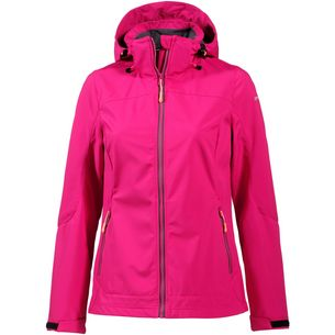 ICEPEAK Sandy Softshelljacke Damen cranberry