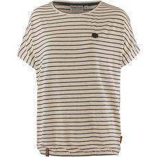 Naketano STRIPED GIRL T-Shirt Damen oma-melange