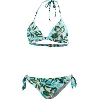 Marc O'Polo Bikini Set Damen blau-grün