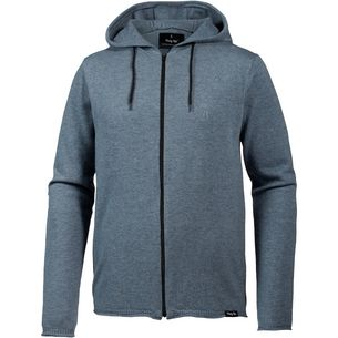 Pally Hi BRANCH BREACH Merino Hoodie Herren Heather Sky