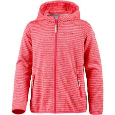 ICEPEAK SIIRI Strickfleece Kinder hot-pink