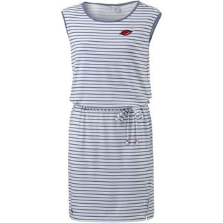 Mazine Jerseykleid Damen offwhite-navy striped