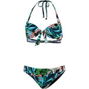 Marc O'Polo Bikini Set Damen blau-grün-türkis