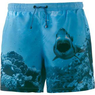 Boss Swordfish Badeshorts Herren blau