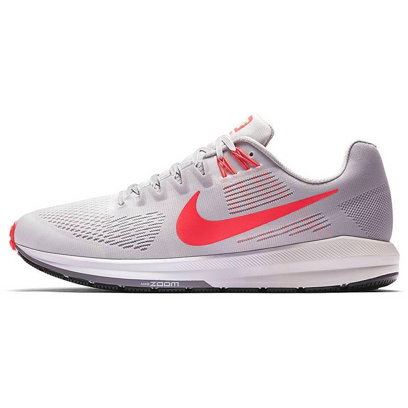 brand new 3ca21 5229a Nike AIR ZOOM STRUCTURE 21 Laufschuhe Herren  vast-grey-brt-crimson-atmosphere