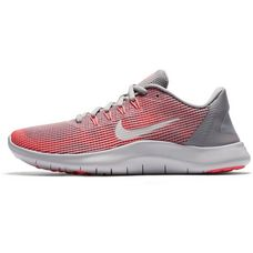 Nike FLEX 2018 RN Laufschuhe Damen atmosphere-grey-vast-grey-crimson-pulse