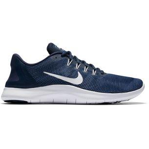Nike FLEX 2018 RN Laufschuhe Herren midnight-navy-white-blue-recall-purple-slate