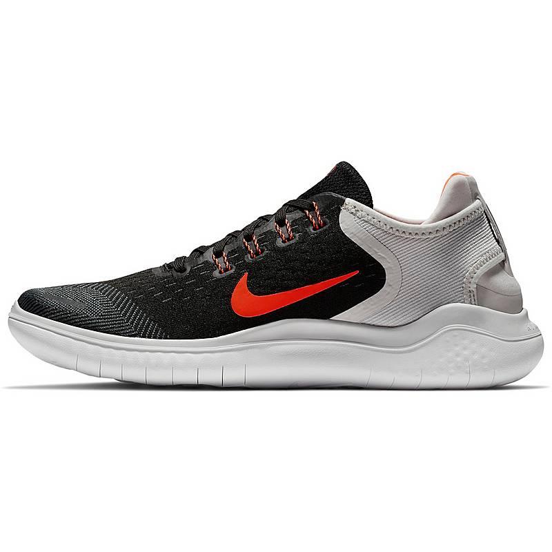online retailer 6c4c1 71b77 Nike FREE RN 2018 Laufschuhe Herren black-total-crimson-vast-grey-