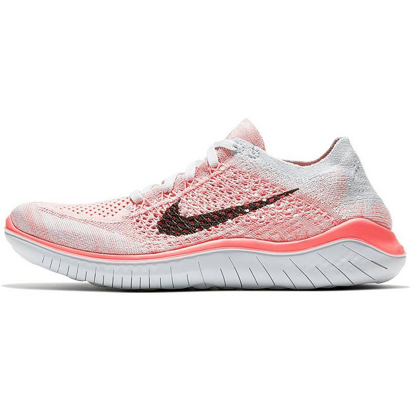 on sale e4fca ecb3e NikeFREE RN FLYKNIT 2018 LaufschuheDamen  crimsonpulseblackpureplatinumpalestpurpleglacierblue