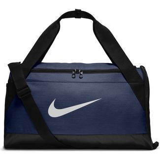 Nike Brasilia Sporttasche midnight-navy-black-white
