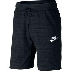 Nike NSW AV15 Shorts Herren black-heather-white