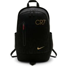 Nike CR7 Daypack black-black-metallic gold