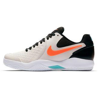Nike NIKE AIR ZOOM RESISTANCE CLY Tennisschuhe Herren PHANTOM/HYPER CRIMSON-BLEACHED AQUA-BLACK-WHITE