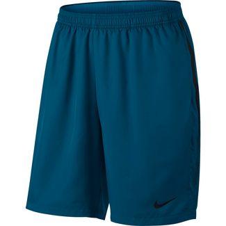 Nike Tennisshorts Herren GREEN ABYSS/BLACK/(BLACK)