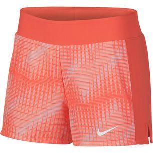 Nike W NKCT FLX PURE SHORT PR Tennisshorts Damen lt wild mango