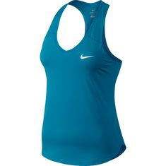 Nike W NKCT TANK PURE Tennisshirt Damen neo turq