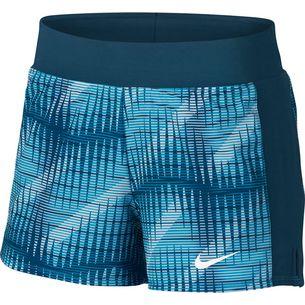 Nike W NKCT FLX PURE SHORT PR Tennisshorts Damen blue force