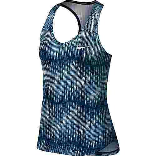 Nike W NKCT PURE TANK PR Tennisshirt Damen blue force