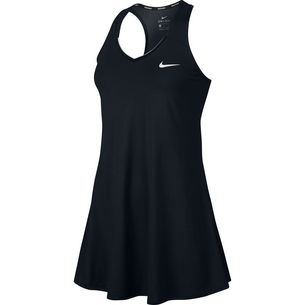 Nike W NKCT PURE DRSS Tenniskleid Damen black