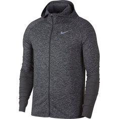 Nike Element Laufhoodie Herren dark-grey-htr-reflective-silver