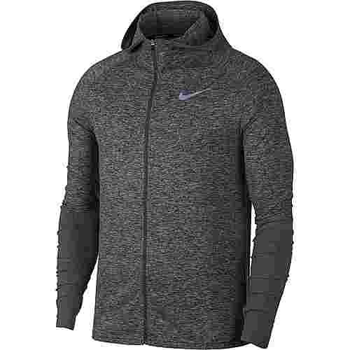Nike Element Laufhoodie Herren dark-grey-htr-reflective-silver