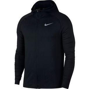Nike Element Laufhoodie Herren black-reflective-silver