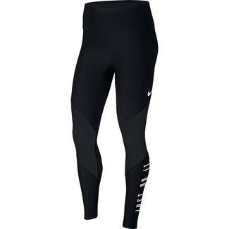 Nike Power Tights Damen black-white