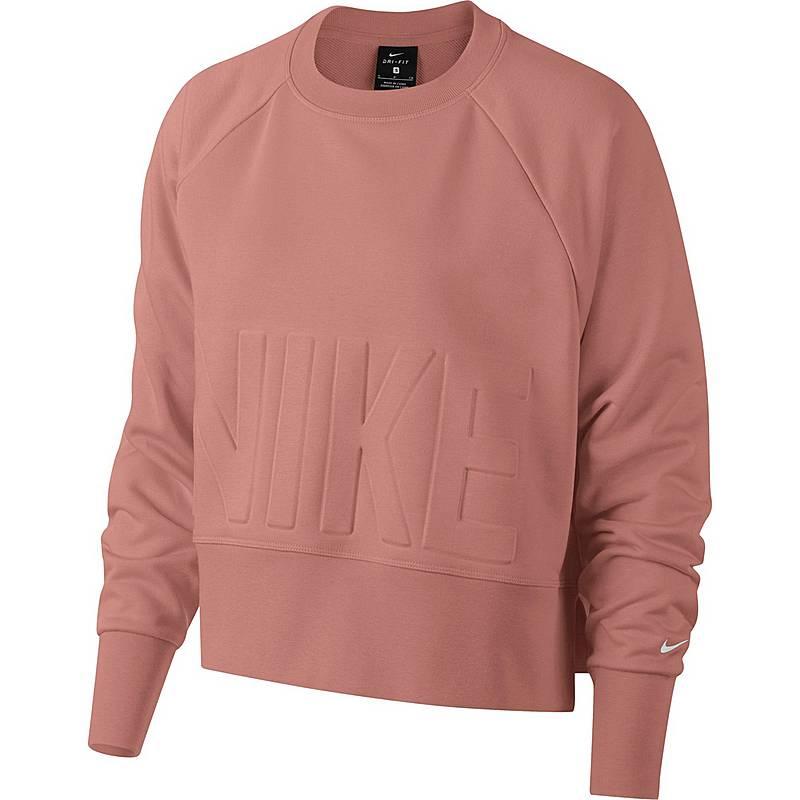 Nike Sweatshirt Damen Rust Pink Pure Platinum Im Online Shop Von