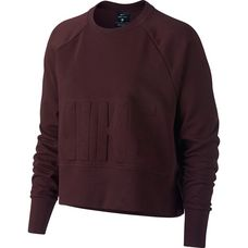 Nike Sweatshirt Damen burgundy crush-black