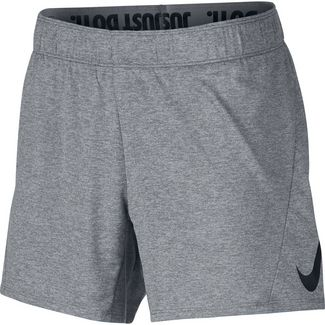 Nike Dry Attack Swoosh Funktionsshorts Damen cool grey