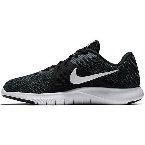 Nike Flex Trainer 8 Fitnessschuhe Damen black-white-anthracite im Online Shop von SportScheck kaufen