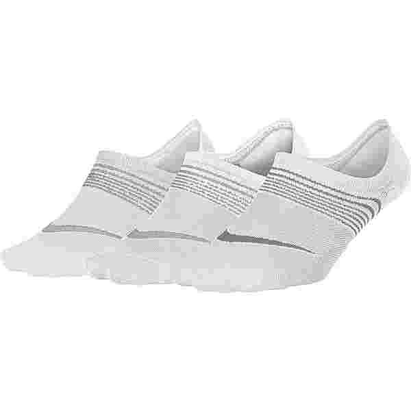 Nike Everyday Lightweight Sportsocken Damen white-wolf grey