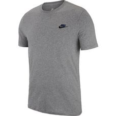Nike T-Shirt Herren carbon heather-black