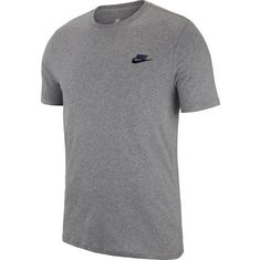 Nike T-Shirt Herren carbon heather-black