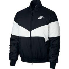 Nike Bomberjacke Herren black-white-black-white