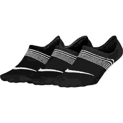 Nike Everyday Lightweight Sportsocken Damen black-white