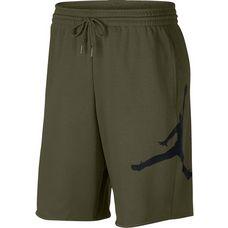 Nike JUMPMAN AIR FLEECE SHORT Shorts Herren olive canvas-black