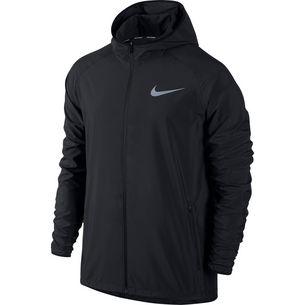 Nike Essential Laufjacke Herren black-reflective-silver
