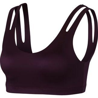 Nike Indy Shine Sport-BH Damen burgundy crush-black