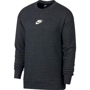 Nike NSW Heritage Crew Sweatshirt Herren black-htr-sail