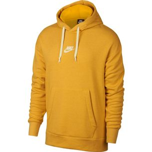 Nike NSW Heritage Hoodie Herren yellow-ochre-htr-sail