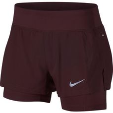 Nike Eclipse Laufshorts Damen burgundy crush