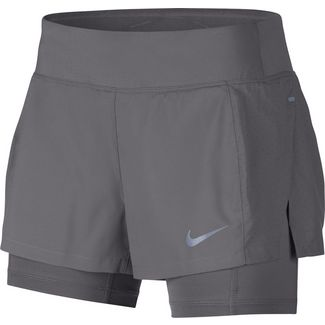 Nike Eclipse Laufshorts Damen gunsmoke