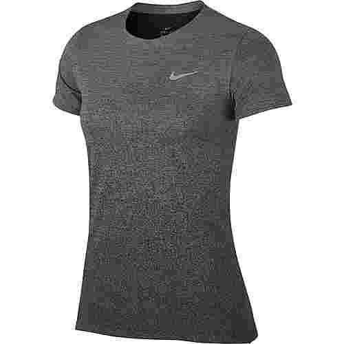 Nike Medalist Laufshirt Damen gunsmoke-black