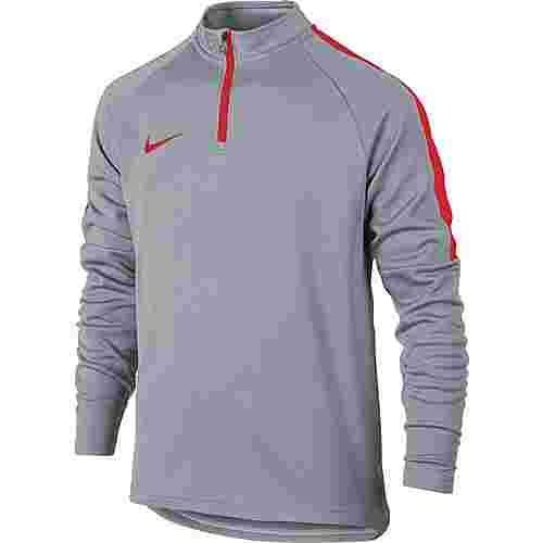 Nike Academy Funktionsshirt Kinder wolf grey-lt crimson-lt crimson