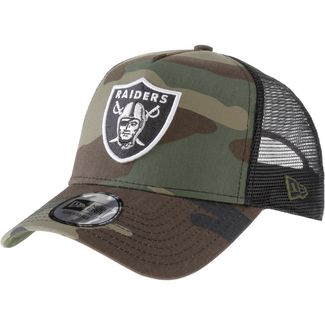 New Era Trucker Oakland Raiders Cap woodland camo