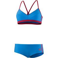 Arena Hyper Bikini Set Damen blau-rot