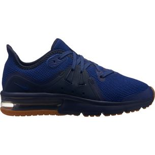 Nike AIR MAX SEQUENT Sneaker Kinder obsidian-deep royal blue-neutr