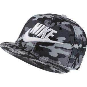 Nike Cap Kinder black-wolf grey-white